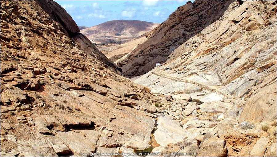Fuerteventura :: Tag 14 | Kleine Wanderung in die Schlucht