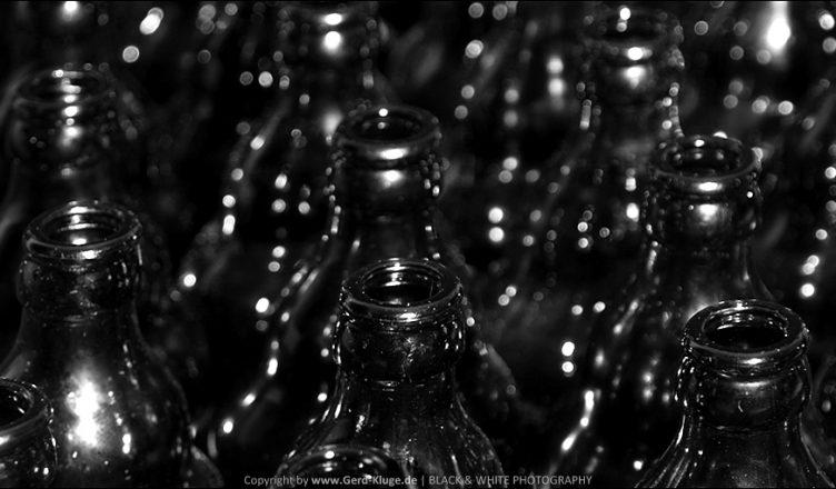 Flasche leer