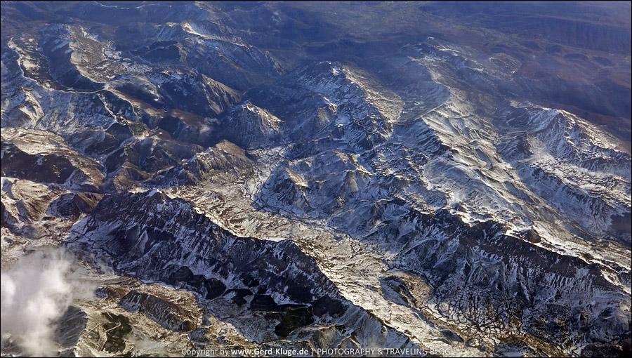 Freie Sicht auf die Pyrenäen